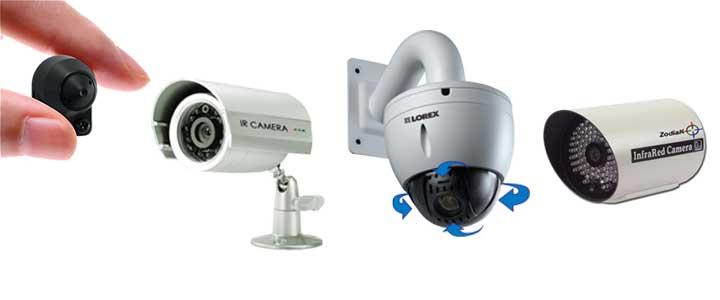 Instaladores de camaras ip, inflarojos,zoom y movimiento, ocultas y antivandalicas